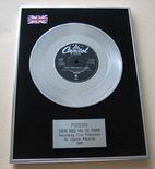 POISON - EVERY ROSE HAS IT'S THORN Platinum single presentation DISC